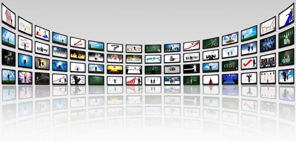 カラーテレビジョンのイメージ