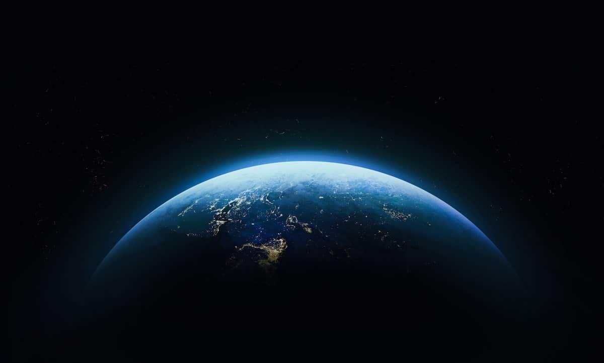 地球は綺麗