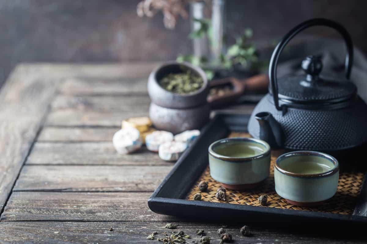美味しい日本茶を淹れる
