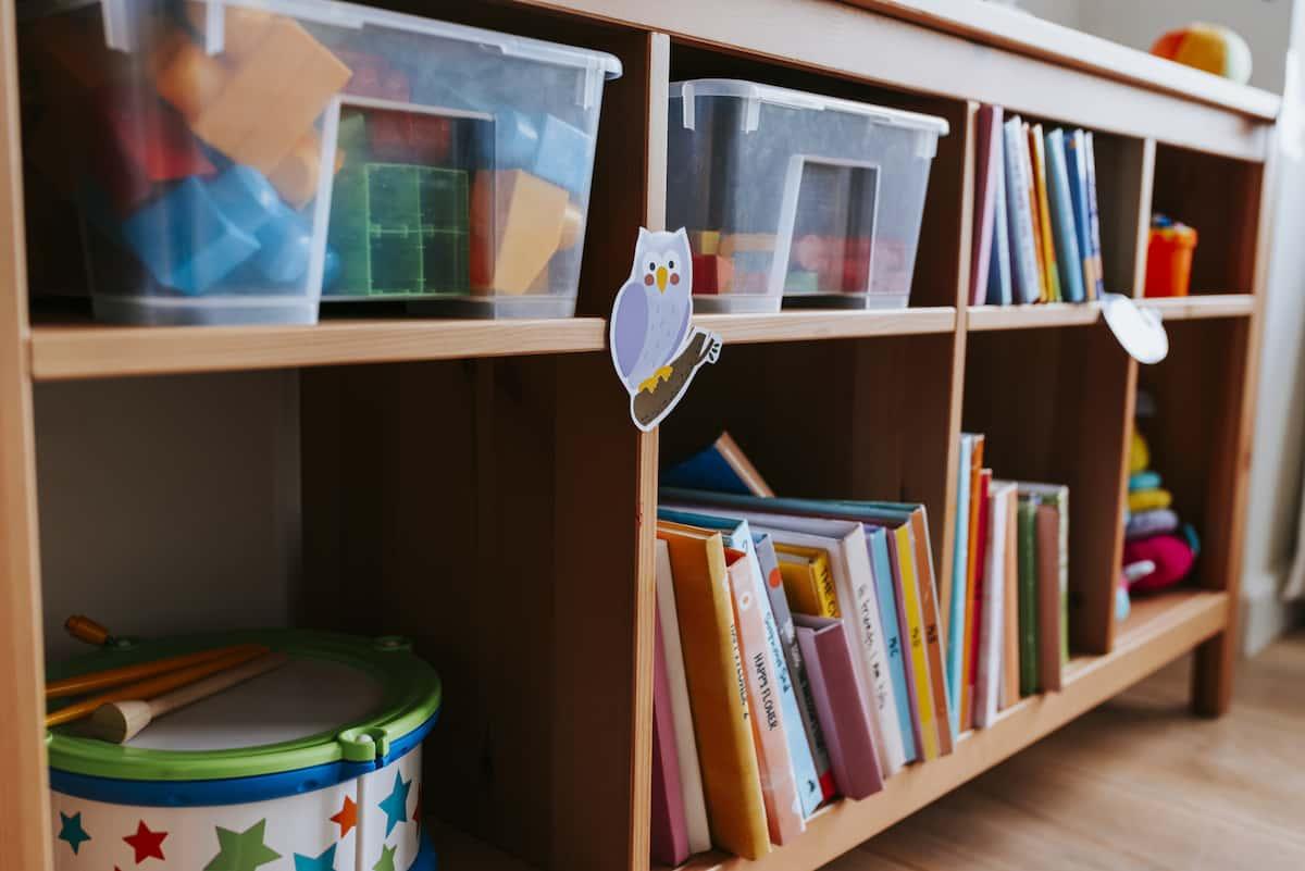たくさんの可愛い本