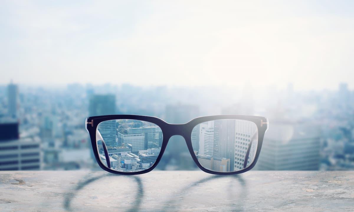 メガネは大事